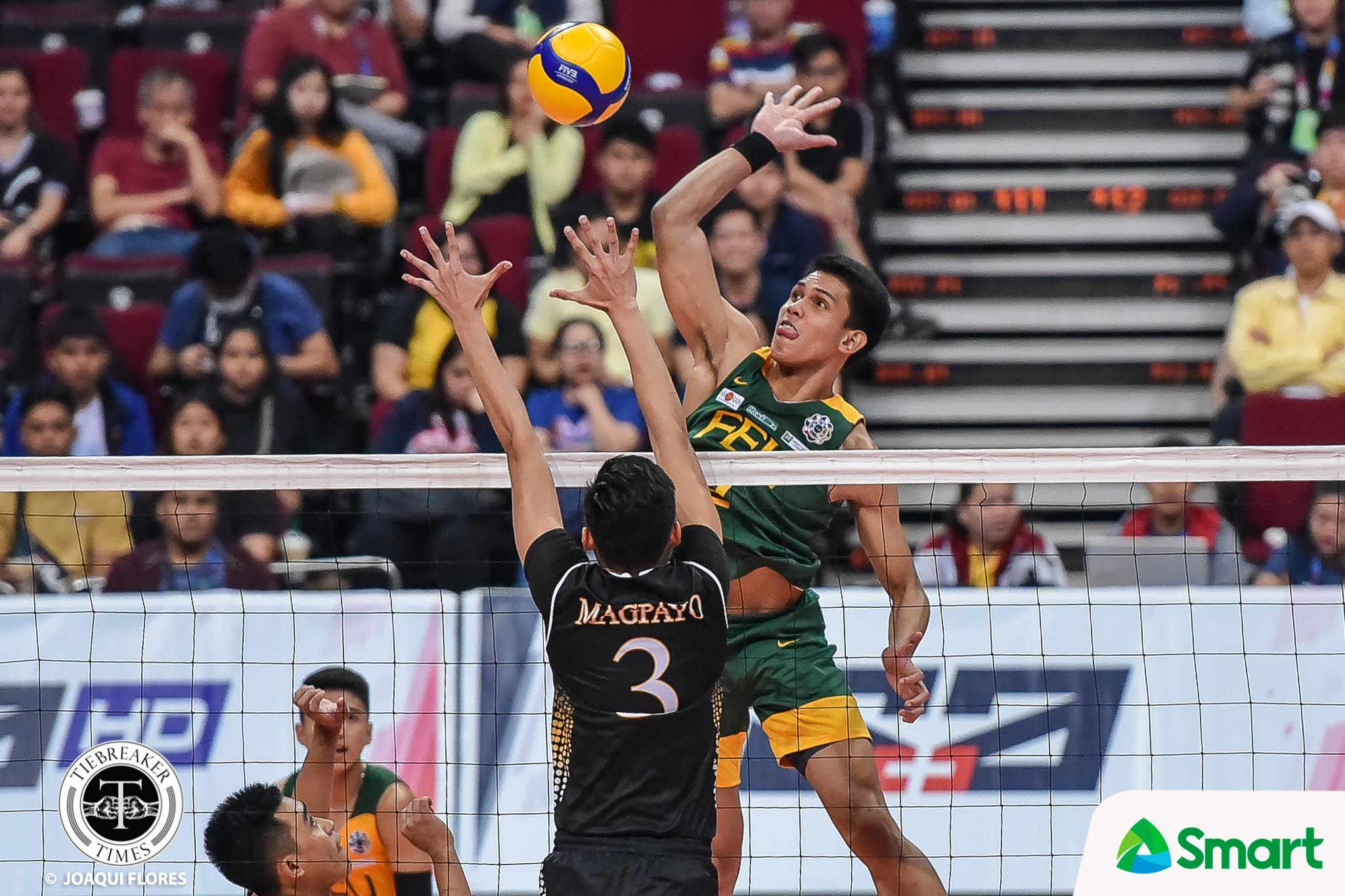 Tiebreaker Times Rey Diaz assures seniors FEU will continue to support them FEU News UAAP Volleyball  uaap season 82 men's volleyball UAAP Season 82 Rey Diaz Peter Quiel Owen Suarez Jude Garcia JP Bugaoan FEU Men's Volleyball Cian Silang