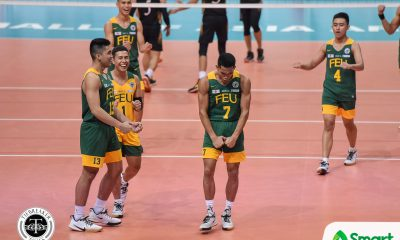 Tiebreaker Times Jude Garcia, FEU Tamaraws endure UST, zoom to 2-0 for share of UAAP 82 lead FEU News NU UAAP Volleyball  Wewe Medina Vince Lorenzo UST Men's Volleyball uaap season 82 men's volleyball UAAP Season 82 Rey Diaz Owen Suarez Odjie Mamon Mark Calado Jude Garcia JP Bugaoan Joshua Umandal JJ Javelona Jhun Senoron Jelex Mendiolla FEU Men's Volleyball