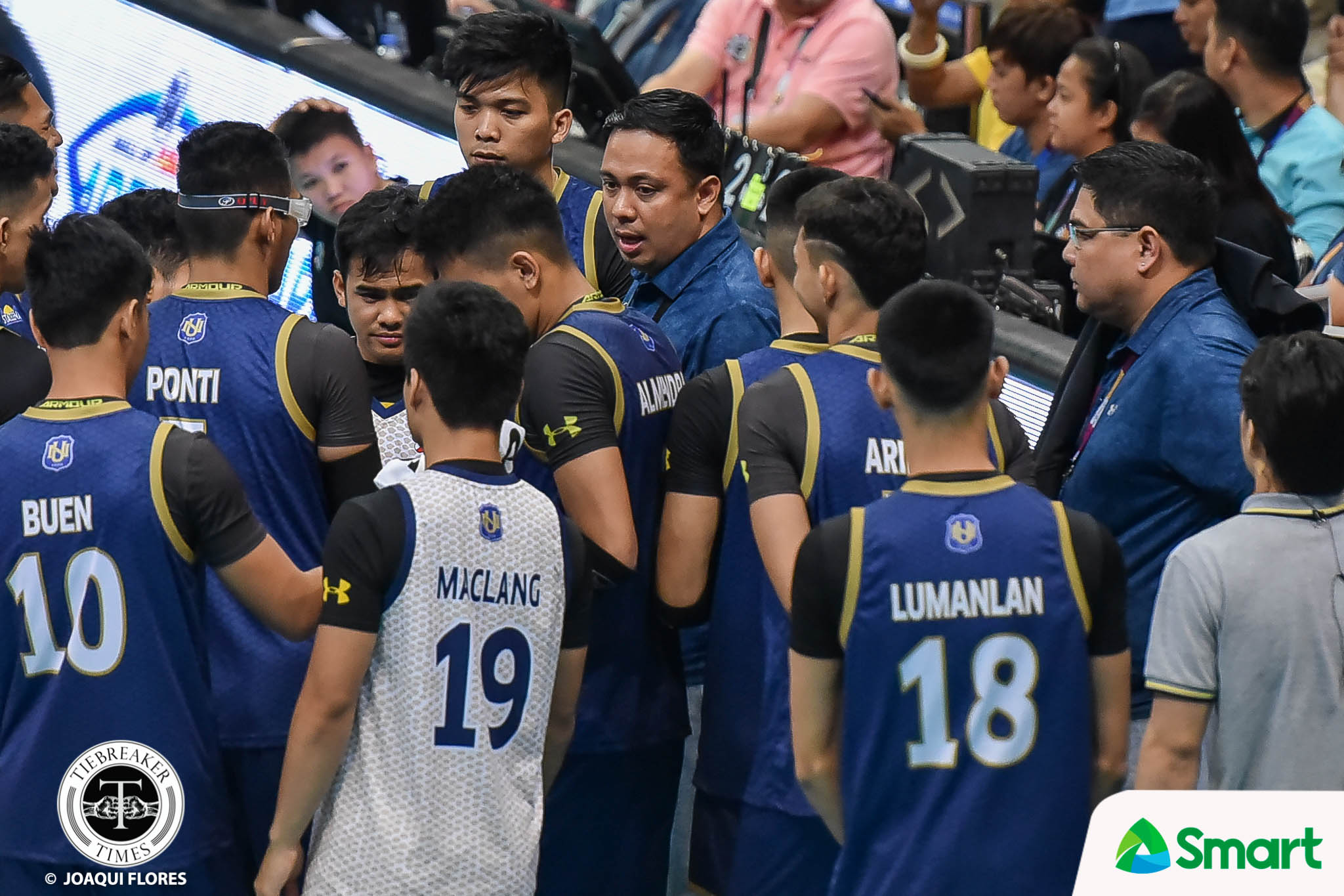 Tiebreaker Times Marcos confident NU can keep winning culture alive News NU UAAP Volleyball  uaap season 82 men's volleyball UAAP Season 82 Ricky Marcos NU Men's Volleyball