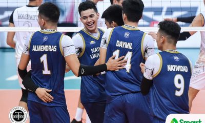 Tiebreaker Times NU Bulldogs open UAAP 82 title defense bid with escape of UST News NU UAAP UST Volleyball  UST Men's Volleyball uaap season 82 men's volleyball UAAP Season 82 Ricky Marcos Odjie Mamon NU Men's Volleyball Nico Almendras MAnuel Medina Lorence Cruz Joshua Umandal Joshua Retamar Jhun Senoron Jelex Mendiola James Natividad Edward Camposano Dante Alinsunurin