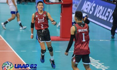 Tiebreaker Times Gamban, UP Fighting Maroons strut way to upset of Ateneo in UAAP 82 ADMU News UAAP UP Volleyball  UP Men's Volleyball uaap season 82 men's volleyball UAAP Season 82 Timmy Sto. Tomas Sebastian Cuerva Rald Ricafort Manuel Sumanguid Louis Gamban Lawrence Magadia John Lomibao Jerahmeel Baldelovar Chumason Njigha Ateneo Men's Volleyball