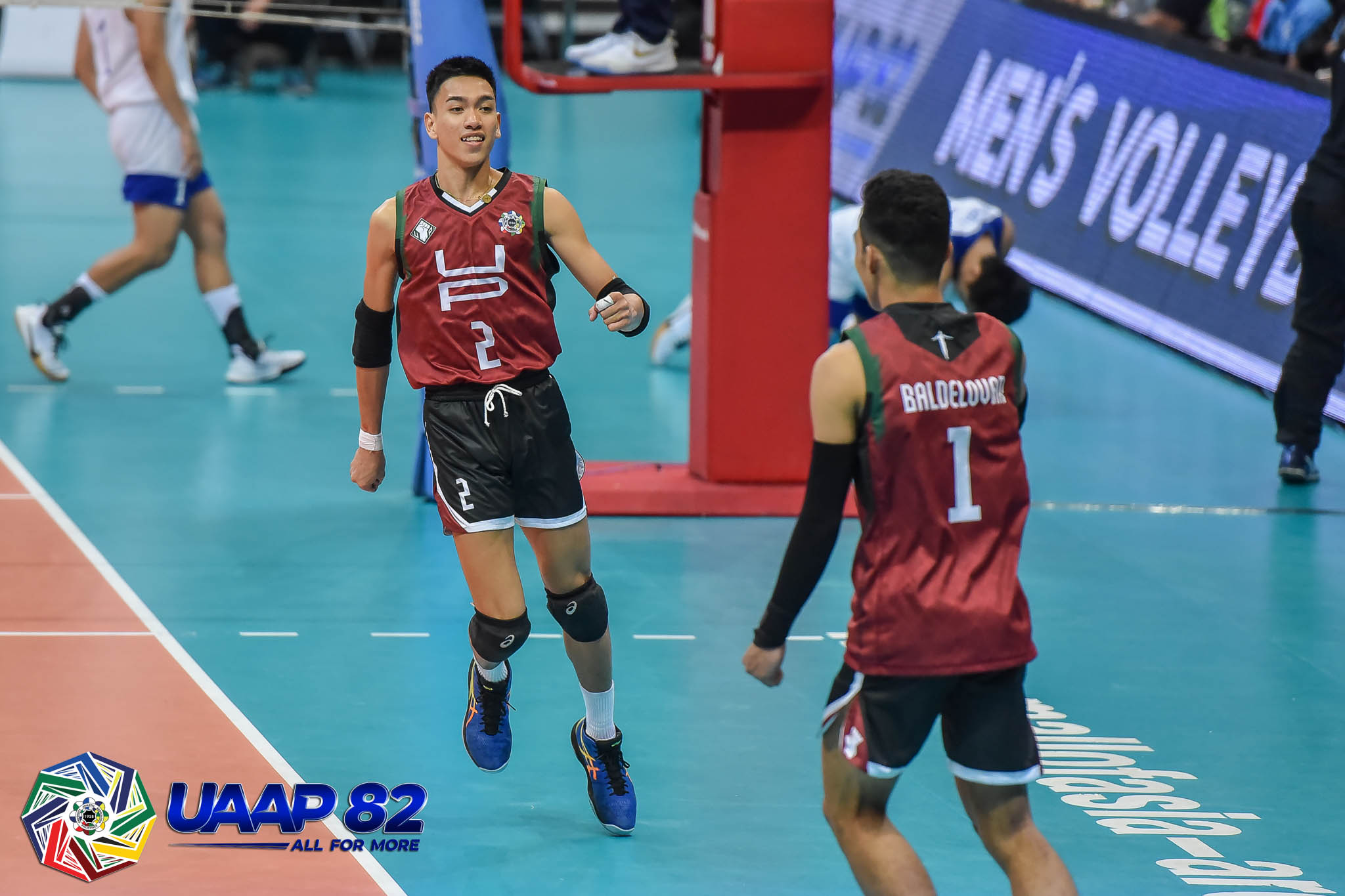Tiebreaker Times Louis Gamban brings 'Perpetual swag' to UP News UAAP UP Volleyball  UP Men's Volleyball uaap season 82 men's volleyball UAAP Season 82 Louis Gamban