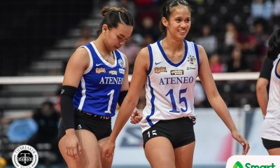 Tiebreaker Times Jho Maraguinot still pondering Ateneo return: 'Sana nag-double major na ko' ADMU News UAAP Volleyball  UAAP Season 82 Women's Volleyball UAAP Season 82 Jho Maraguinot Ateneo Women's Volleyball