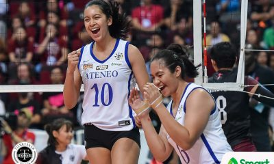 Tiebreaker Times Kat Tolentino on Ateneo return: Now's not the time to decide ADMU News UAAP Volleyball  UAAP Season 83 Women's Volleyball UAAP Season 83 Kat Tolentino Ateneo Women's Volleyball
