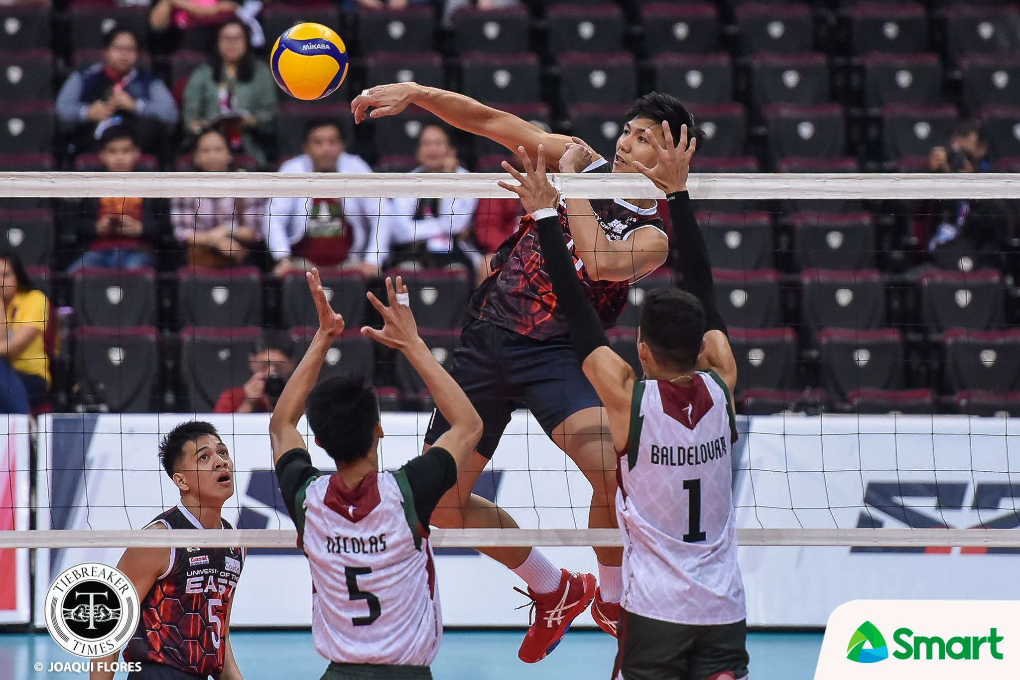 Tiebreaker Times Josafat erupts for 32, lifts UE Red Warriors past UP in UAAP 82 News UAAP UE UP Volleyball  upmen's volleyball UE Men's Volleyball uaap season 82 men's volleyball UAAP Season 82 Ralph Imperial Rald Ricafort Miguel Nasol Mac Millete Louis Gamban Kenneth Culabat John Lomibao John Andaya Jerome Guhit Jerahmeel Baldelovar