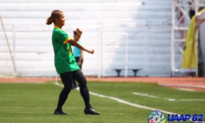 Tiebreaker Times FEU Lady Tamaraws start UAAP 82 campaign with 7-goal rout of Ateneo ADMU FEU Football News UAAP  uaap season 82 women's football UAAP Season 82 Samantha Green Let Dimzon Joyce Onrubia Jonela Albiño FEU Women's Football Dionesa Tolentin Carmela Altiche Bob Manlulo Ateneo Women's Football