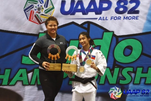 UAAP-82-WOMEN'S-JUDO-AWARDING-ROY-MVP-Sy-Lopez UE Lady Warriors bag historic UAAP Judo title Judo News UAAP UE UP UST  - philippine sports news