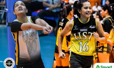 Tiebreaker Times Galanza out, Mangulabnan in for UST Golden Tigresses in UAAP Season 82 News UAAP UST Volleyball  UST Women's Volleyball UAAP Season 82 Women's Volleyball UAAP Season 82 Rod Roque Maji Mangulabnan MaFe Galanza Kungfu Reyes