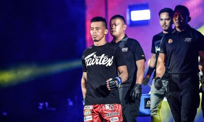 Tiebreaker Times Honorio Banario, Mark Sangiao look back on closed-door experience in Singapore Mixed Martial Arts News ONE Championship  Team Lakay ONE: King of the Jungle Mark Sangiao Honorio Banario