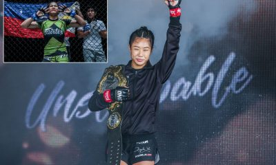 Tiebreaker Times Angela Lee on 'dangerous' Denice Zamboanga: 'I won't be underestimating her' Mixed Martial Arts News ONE Championship  Evolve MMA Denice Zamboanga Angela Lee