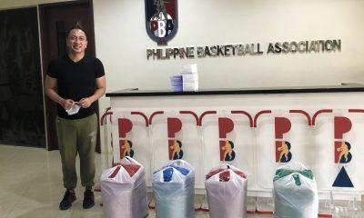 Tiebreaker Times PBA hands over PPEs to Pasig City News PBA  Willie Marcial PBA Season 45 Coronavirus Pandemic
