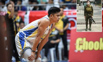 Tiebreaker Times Bacoor's Eric Acuna to miss son's birthday as he is serving as Army frontliner Basketball MPBL News  Eric Acuna Coronavirus Pandemic Bacoor Strikers