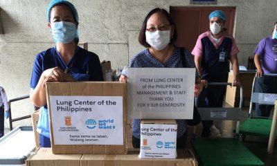 Tiebreaker Times Over 60 hospitals receive SMC's PPEs News PBA  San Miguel Corporation Coronavirus Pandemic