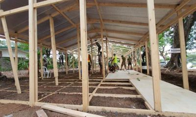 Tiebreaker Times SMC, AFP build isolation facilities to help ease hospital overcrowding News PBA  San Miguel Corporation Ramon Ang Coronavirus Pandemic