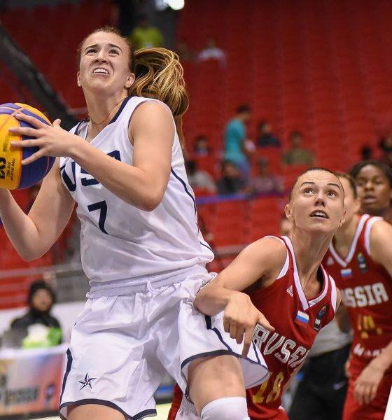 Tiebreaker Times WNBA Draft top pick Ionescu played in PH Arena two years ago 2018 FIBA 3X3 World Cup  Sabrina Ionescu 2018 FIBA 3x3 World Cup - Women's