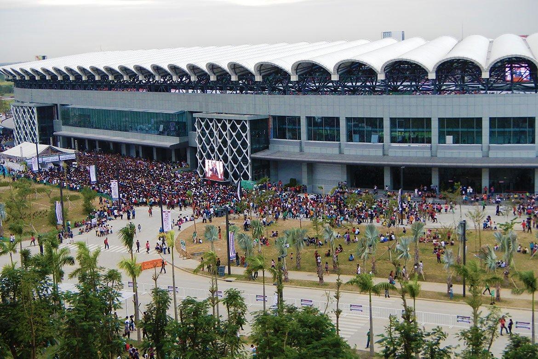 Tiebreaker Times INC opens entire Ciudad De Victoria as temporary medical facility News  Philippine Sports Stadium Philippine Arena Coronavirus Pandemic