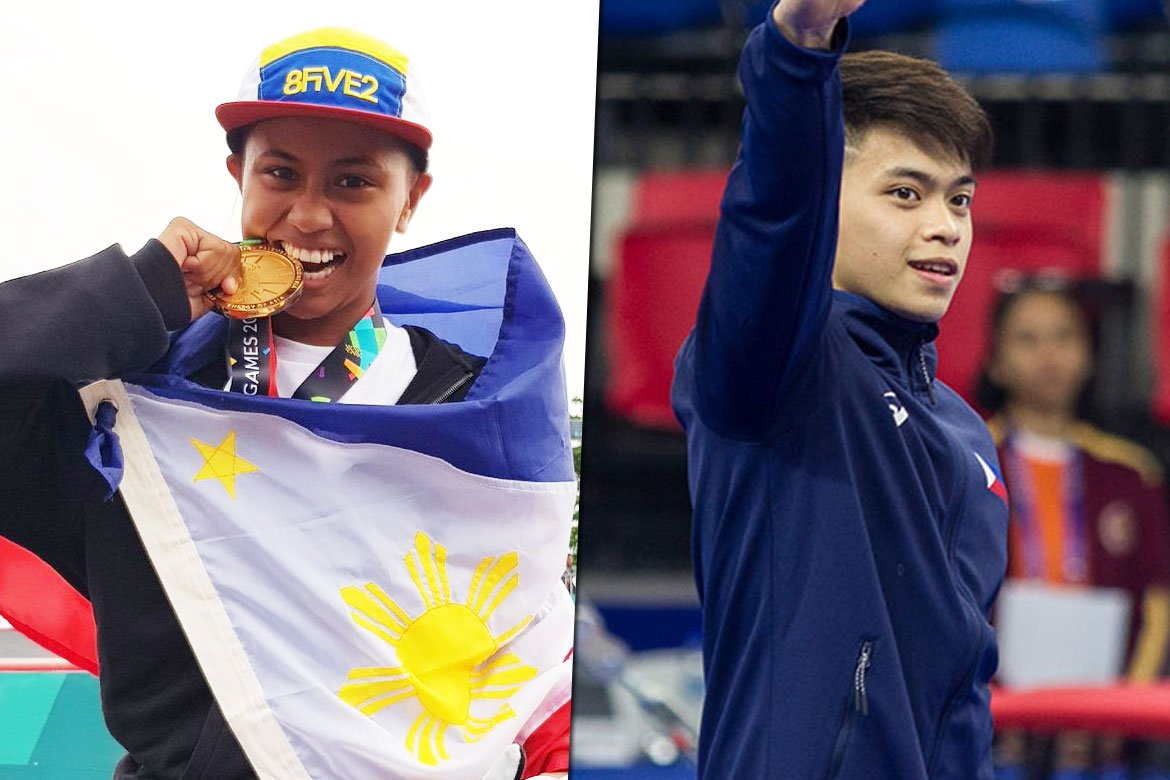 Tiebreaker Times Margie Didal, Caloy Yulo part of Forbes Asia's 30 under 30 list Gymnastics News Skateboarding  Margie Didal Caloy Yulo