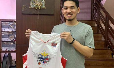 Tiebreaker Times Kevin Alas gives rare Last Home Stand Gilas jersey to Letran fundraiser Basketball CSJL Gilas Pilipinas News  Kevin Alas Coronavirus Pandemic
