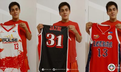 Tiebreaker Times RJ Jazul adds three jerseys to Letran's drive Basketball CSJL News  RJ Jazul Coronavirus Pandemic