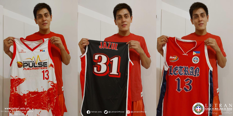 Tiebreaker Times RJ Jazul adds three jerseys to Letran's drive Basketball CSJL News  RJ Jazul Coronavirus Pandemic
