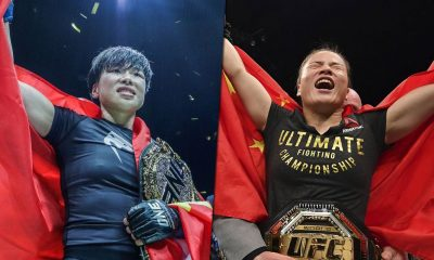 Tiebreaker Times Chatri wants to see dream bout between ONE's Xiong vs UFC's Zhang Mixed Martial Arts News ONE Championship UFC  Zhang Weili Xiong Jing Nan Chatri Sityodtong