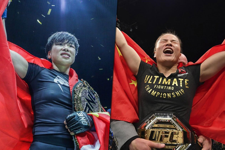 Tiebreaker Times Chatri wants to see dream bout between ONE's Xiong vs UFC's Zhang Mixed Martial Arts News ONE Championship UFC  Zhang Weili Xiong Jing Nan Chatri Sityodtong