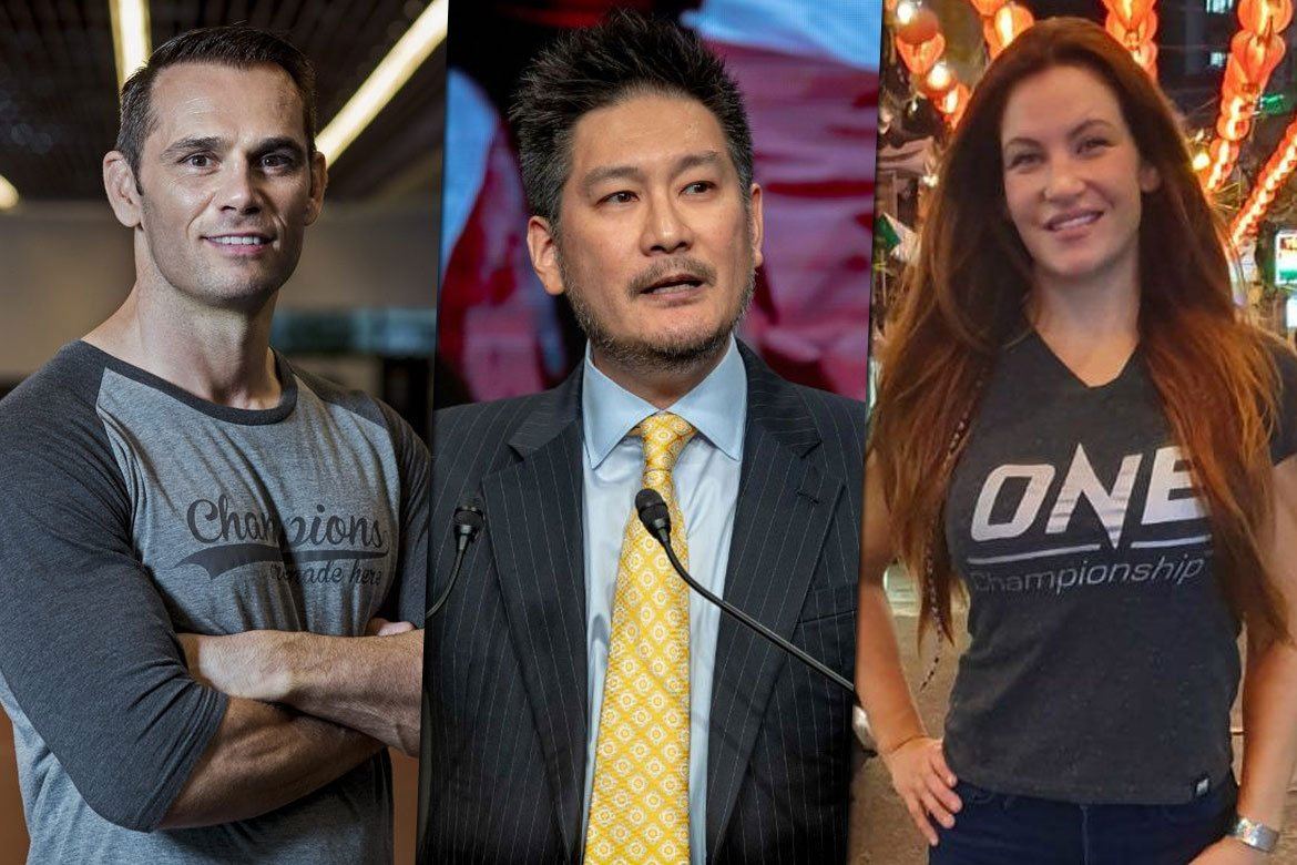 Tiebreaker Times What is it like to work with ONE CEO Chatri? News ONE Championship  Rich Franklin Miesha tate Chatri Sityodtong Apprentice: ONE Championship