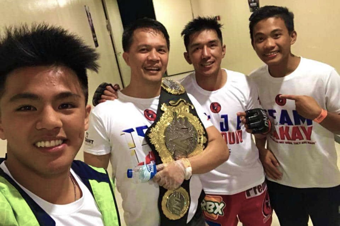 Tiebreaker Times No special treatment for 'Little Machine', says Mark Sangiao Mixed Martial Arts News ONE Championship  Team Lakay Mark Sangiao Jhanlo Sangiao
