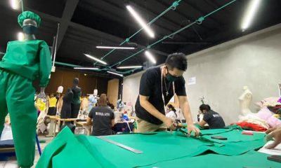 Tiebreaker Times Team Rebel Sports ties up with Michael Leyva to produce PPEs News  Team Rebel Pilipinas Joel Cu Coronavirus Pandemic