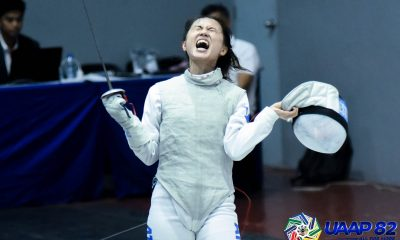 Tiebreaker Times Maxine Esteban continues to give back while finishing nine online Ivy League courses ADMU Fencing News UAAP  UAAP Season 82 Maxine Esteban Coronavirus Pandemic