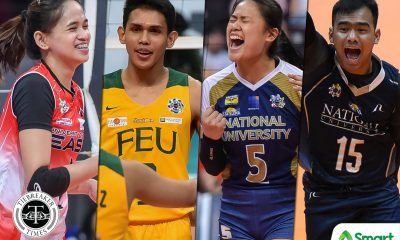 Tiebreaker Times Mixed emotion for student-spikers after UAAP 82 cancelation ADMU FEU News NU UAAP UE UP UST Volleyball  UAAP Season 82 Women's Volleyball uaap season 82 men's volleyball UAAP Season 82 Risa Sato Ricky Marcos Mean Mendrez Louis Gamban Louie Romero Kat Tolentino Jude Garcia Faith Nisperos Eya Laure EJ Laure