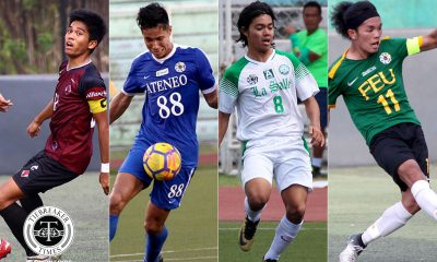 Tiebreaker Times UAAP Men's Football stars lament cancelled season ADMU DLSU FEU Football News UAAP UP  William Grierson Nathan Alcantara Miggy Clarino John Renz Saldivar Coronavirus Pandemic