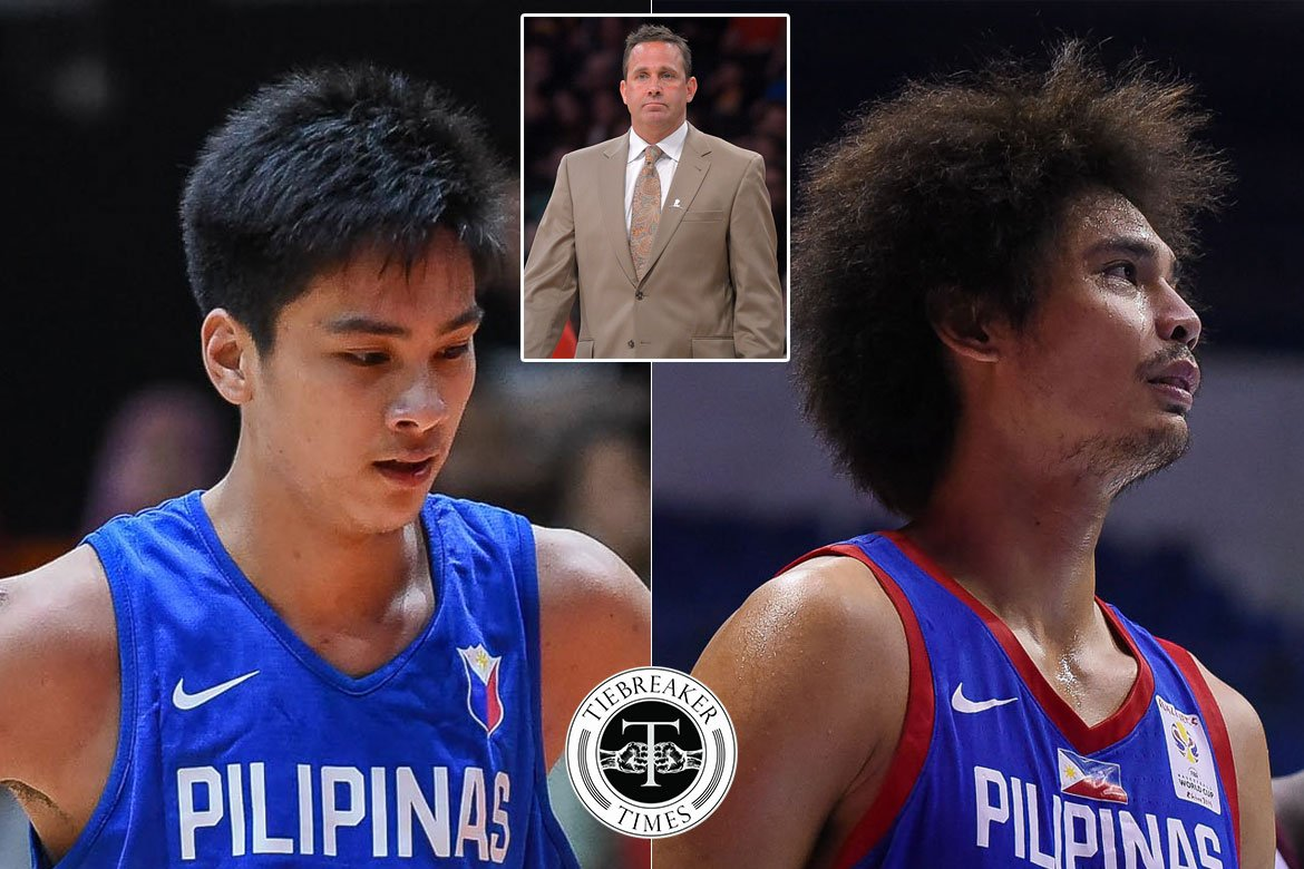Tiebreaker Times Bill Bayno has high hopes for Kai Sotto, shares why Japeth Aguilar did not make NBA Basketball News PBA  Kai Sotto Japeth Aguilar Bill Bayno