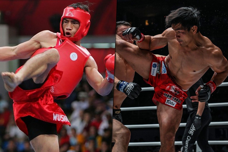 Tiebreaker Times How Eduard Folayang transitioned from wushu to mixed martial arts Mixed Martial Arts News ONE Championship Wushu  Team Lakay Eduard Folayang