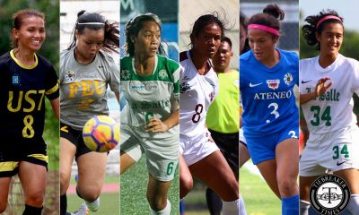 Tiebreaker Times Pain, Acceptance, and Hope: UAAP women student-booters reflect on short Season 82 ADMU DLSU FEU Football News UAAP UP UST  UST Women's Football UP Women's Football uaap season 82 women's football UAAP Season 82 Sofia Dungca Sarah Castañeda Nicole Bugayong Mary Lam Mary Indac Marianne Ruiz Kim Parina Ikeesha Aquino Hannah Pachejo FEU Women's Football DLSU Women's Football Christine Duran Ateneo Women's Football Arantxa Del Mundo