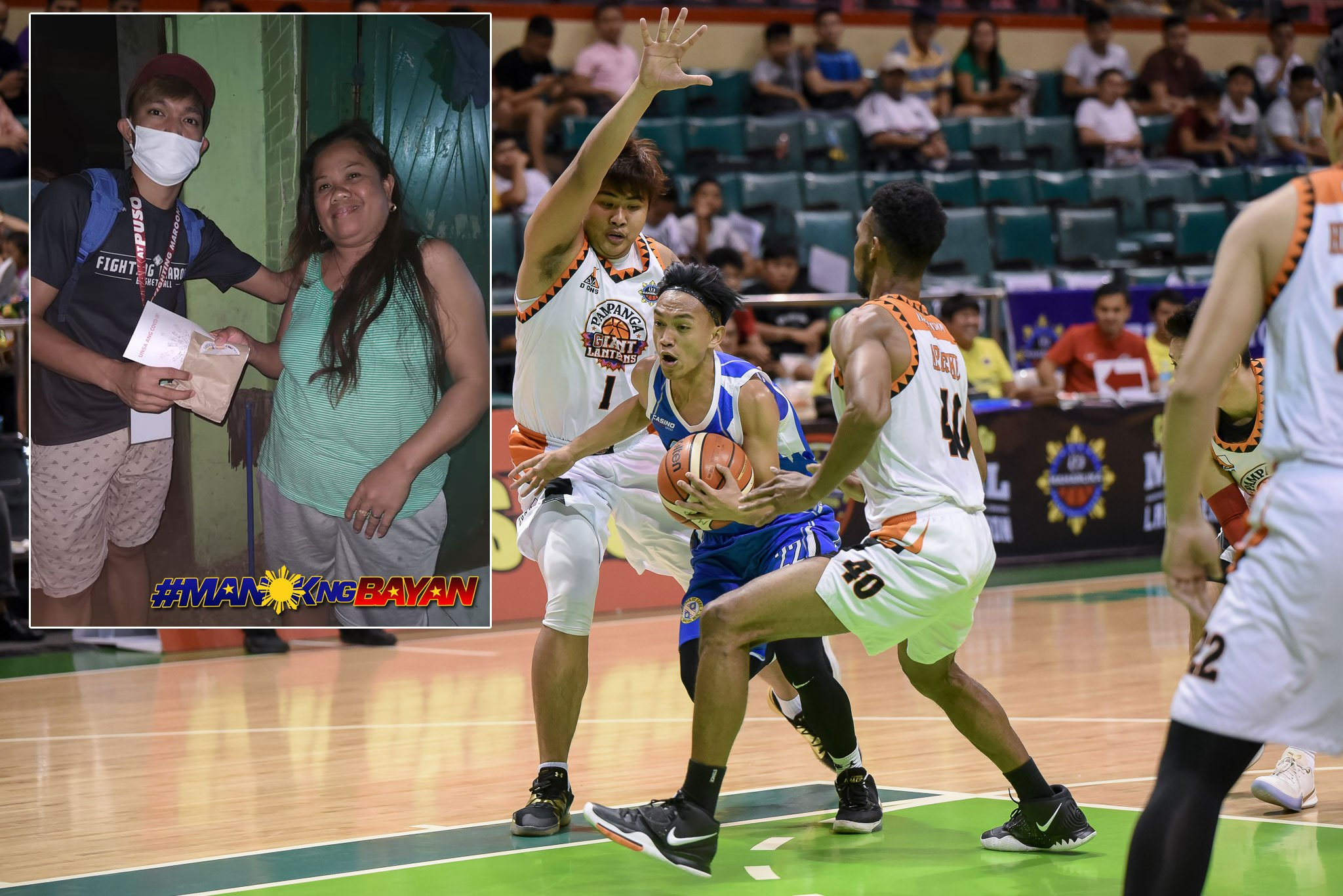 Tiebreaker Times Cebu's Jaybie Mantilla proving SK doing more in COVID-19 crisis Basketball MPBL News  Jaybie Mantilla Coronavirus Pandemic Cebu Sharks