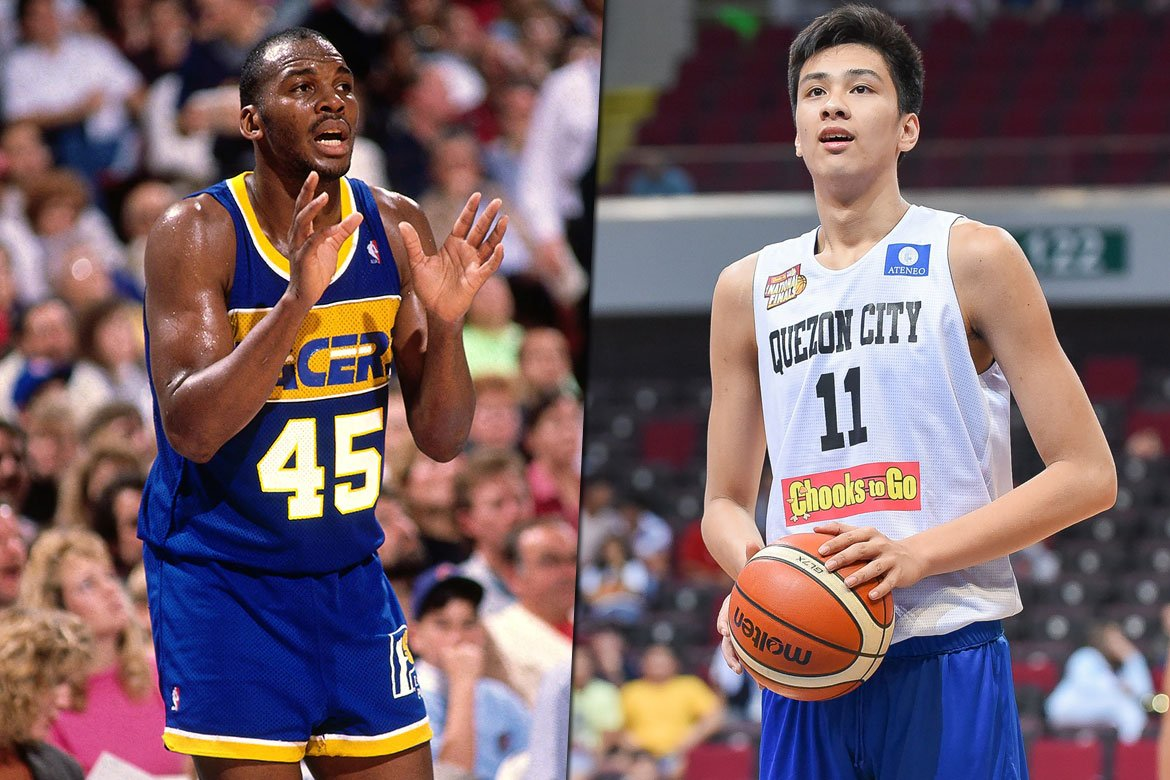 Tiebreaker Times Known shooter Chuck Person helping Kai Sotto extend his range Basketball News  Kai Sotto Chuck Person 2020-21 NBA G-League Season