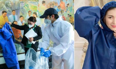 Tiebreaker Times Rox Montealegre shifts sports clothing plant to PPE production hub News  Roxanne Montealegre Grace Poe Coronavirus Pandemic