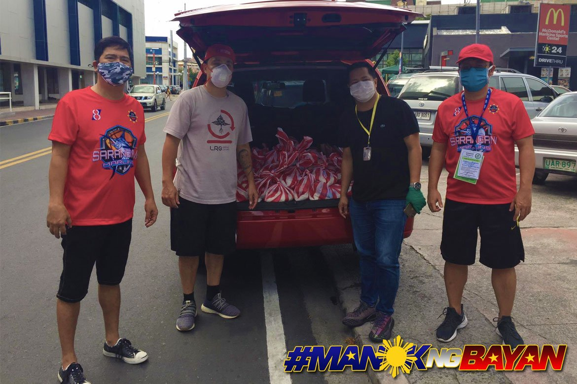 Tiebreaker Times Sarangani Marlins, GenSan Warriors link up to help MPBL staff Uncategorized  Sarangani Province (MPBL) Mermann Flores Manny Pacquiao John Kallos General Santos City Warriors Coronavirus Pandemic