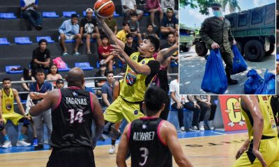 Tiebreaker Times Mar Villahermosa honored to serve as part of Philippine Army's relief ops team Basketball MPBL News  Jess Villahermosa Coronavirus Pandemic