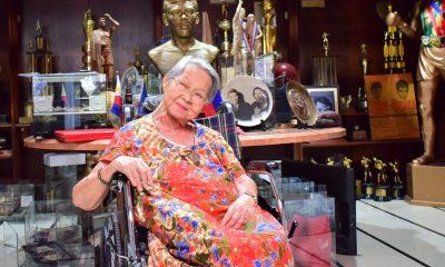 Tiebreaker Times Laura Elorde, 92, passes away Boxing News  Laura Elorde