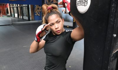Tiebreaker Times Thanks to world champ friends, Denice Zamboanga finds home in Thailand Mixed Martial Arts News ONE Championship  Stamp Fairtex Rodtang Jitmuangnon Fairtex Denice Zamboanga Coronavirus Pandemic