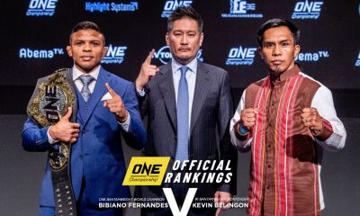 Tiebreaker Times Kevin Belingon not giving up on Bibiano Fernandes pentalogy Mixed Martial Arts News ONE Championship  Team Lakay Kevin Belingon Bibiano Fernandes