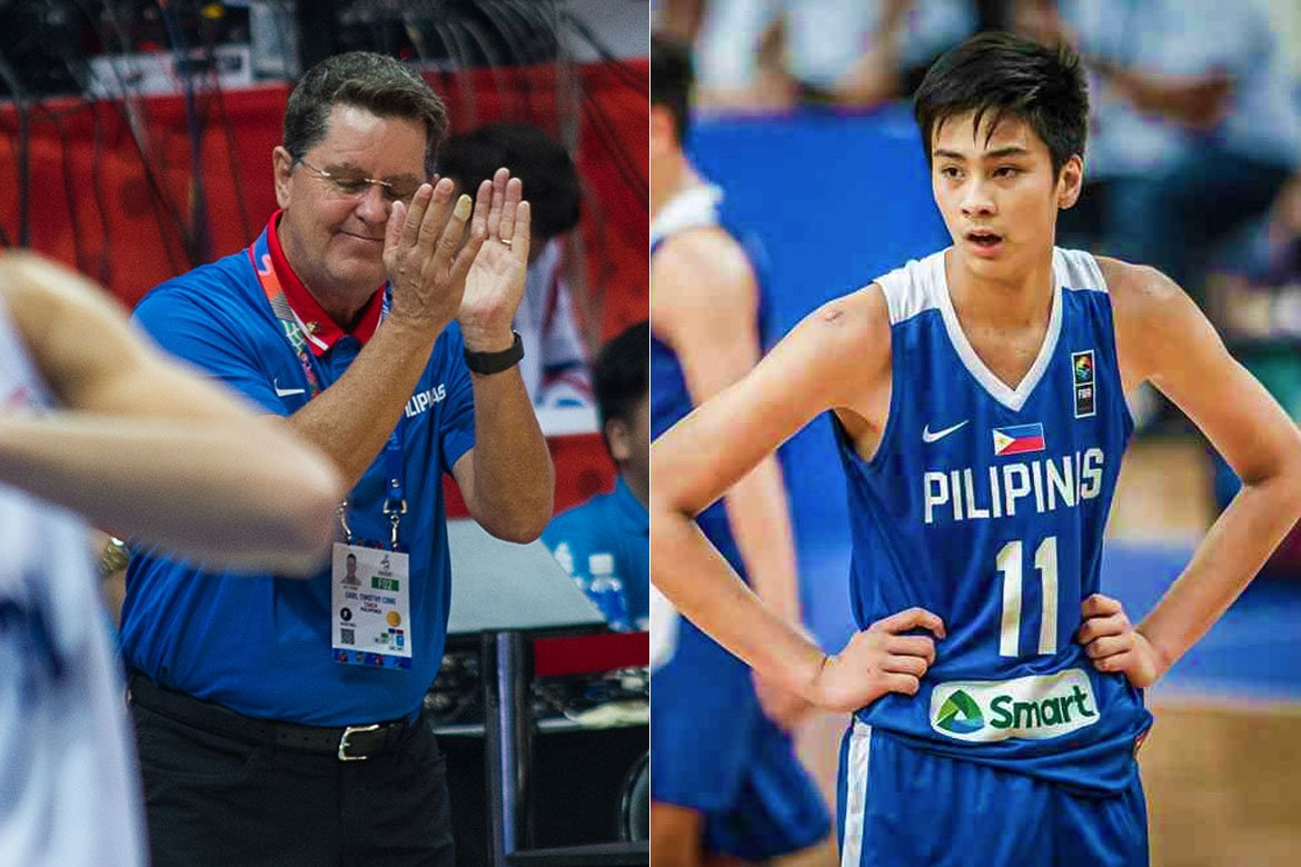 Tiebreaker Times Fan of college game, Tim Cone says Kai Sotto situation is unique Basketball News  Tim Cone NBA Philippines Kai Sotto 2020-21 NBA G-League Season