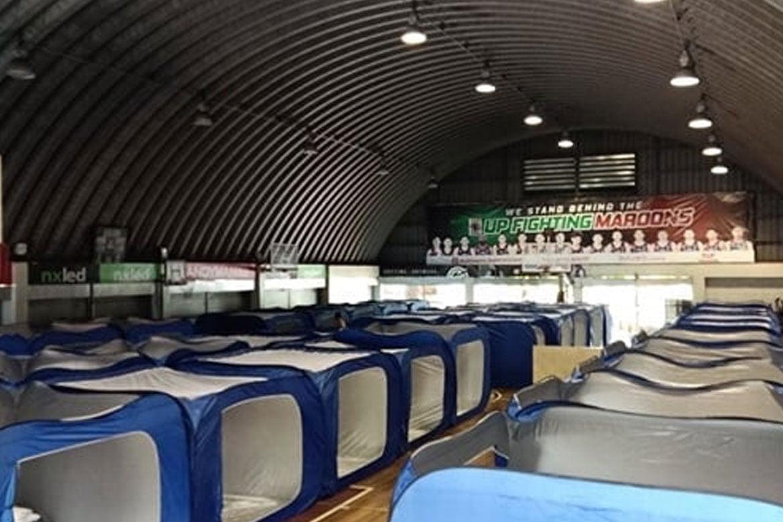 Tiebreaker Times UP CHK opens annex as step-down iso facility for COVID-19 cases News UAAP UP  UP College of Human Kinetics UAAP Season 82 Kiko Diaz Coronavirus Pandemic