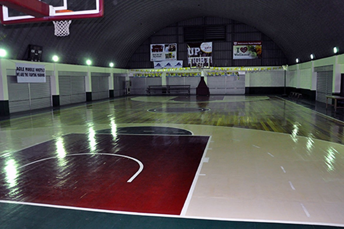 UAAP-Season-82-Covid-19-action-UP-CHK-Annex-before UP CHK opens annex as step-down iso facility for COVID-19 cases News UAAP UP  - philippine sports news