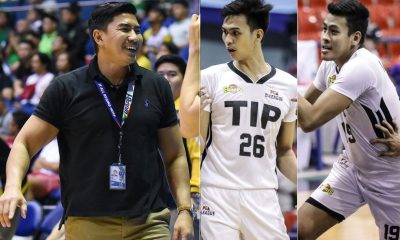 Tiebreaker Times TIP's Bryan Santos, Ivan Santos move to UST Basketball News UAAP UCBL UST  UST Men's Basketball UAAP Season 84 Men's bASKETBALL UAAP Season 84 TIP Engineers Ivan Santos Bryan Santos Aldin Ayo