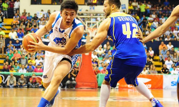 Tiebreaker Times What if Ian Sangalang never tore his ACL? Cone weighs in Basketball News PBA  Tim Cone San Mig Coffee Mixers PBA Season 40 Ian Sangalang