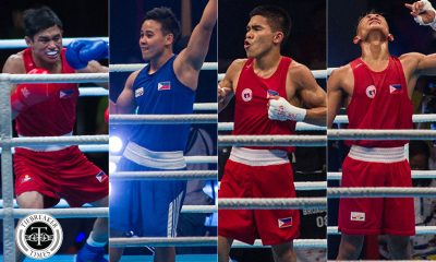 Tiebreaker Times ABAP looking to send four more boxers to Tokyo Olympics 2020 Tokyo Olympics Boxing News  Rogen Ladon Ricky Vargas Philippine Sportswriters Association Forum Nesthy Petecio Ian Clark Bautista Ed Picson carlo paalam Association of Boxing Alliances in the Philippines