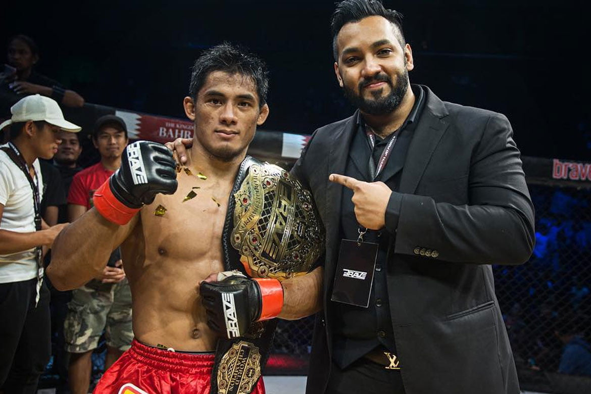 BRAVE-CF-Stephen-Loman-x-Mohammad-Shahid Three Team Lakay young guns who could steal headlines this year Mixed Martial Arts News ONE Championship  - philippine sports news